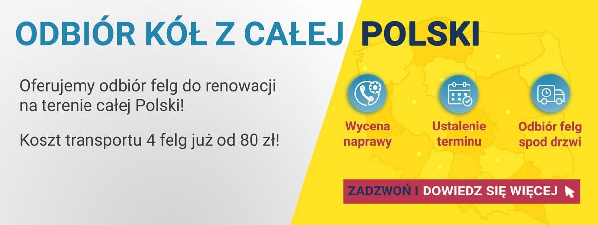 Transport felg z całej Polski - oferujemy atrakcyjne ceny i gwarantujemy znakomite parametry bezpieczeństwa.
