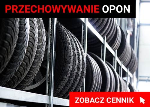 Przechowywanie opon Warszawa